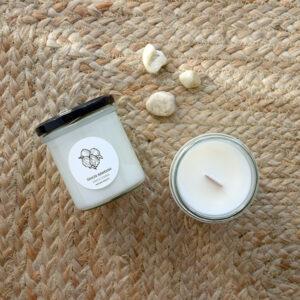 Świeca sojowa NR&BK SIMPLE bawełna